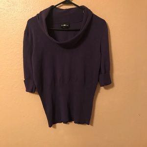 Tops - Woman's Size large purple blouse